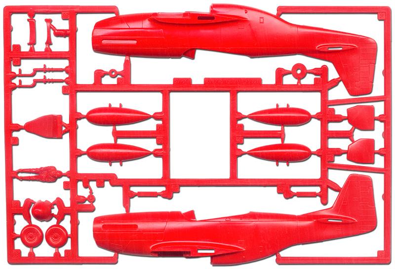 Pas-à-pas : Mitsubishi J2M3 modele 21 Raiden Jack [Tamiya 1/48] Matchbox-mustang-05